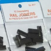 Peco SL911 Insulating rail joiners - reduced further